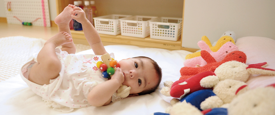 たけの保育園 赤ちゃん